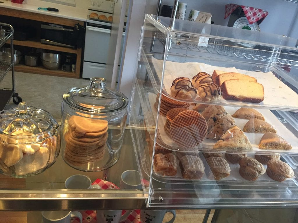 dutch pastries and sweets at staats bakery