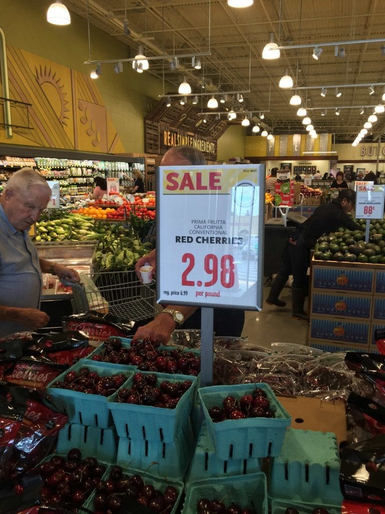 deals at whole foods west chase on cherries