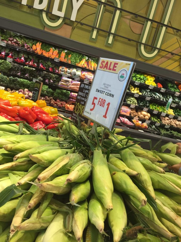 deal on corn on the cob at whole foods west chase