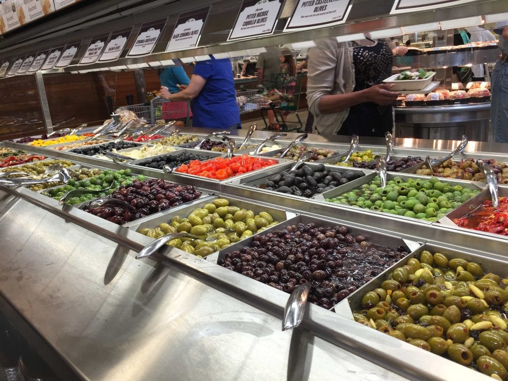 olive bar at whole foods west chase