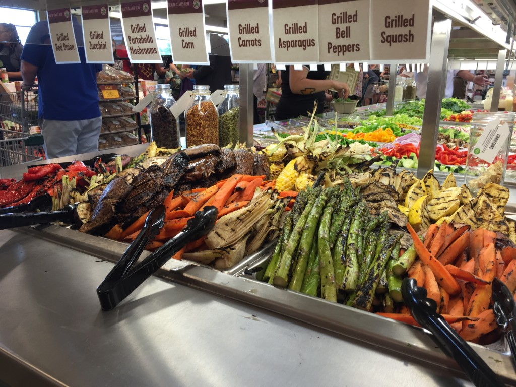 grilled veggies at whole foods west chase