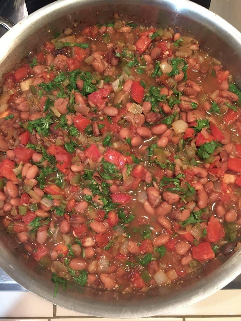 vegan vegetarian spicy charro pinto beans by very veganish
