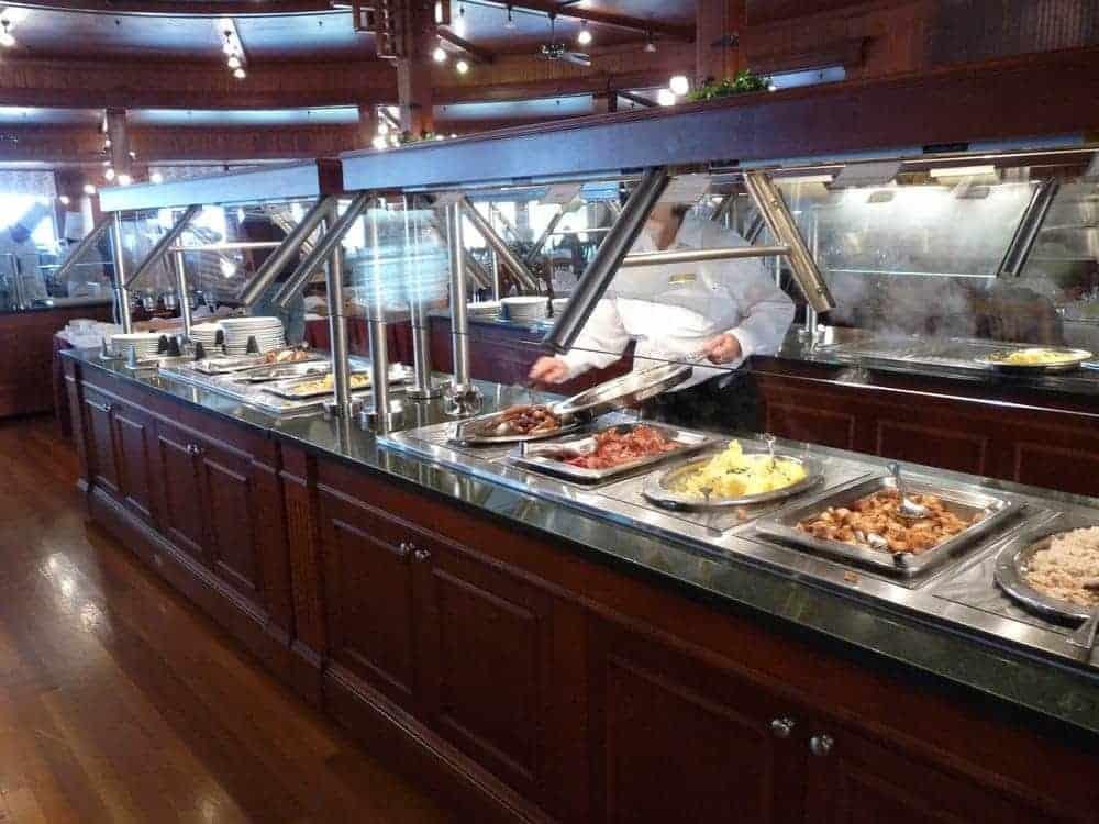 Mohonk Breakfast Buffet Line
