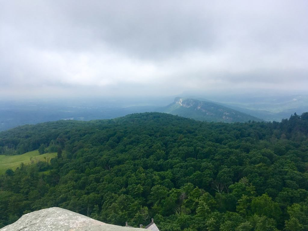 Summit View at Mohonk Mountain House New York by Very Veganish