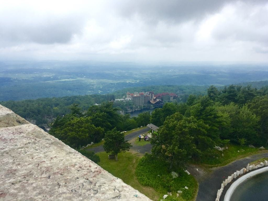 Views from the Top of Mohonk Mountain by Very Veganish