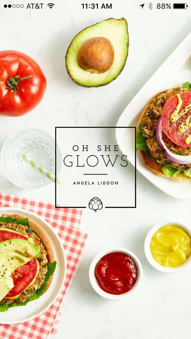 Oh She Glows - Vegan Plant-Based Recipe App that's absolutely gorgeous!
