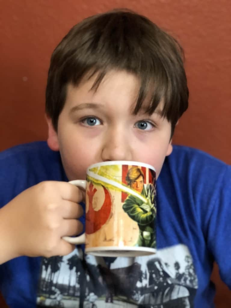 Try these Kids Pumpkin Spice Steamer Autumn Bombs for a caffeine free hot kids drink that's not cocoa refined sugar free too. Even big kids like them!