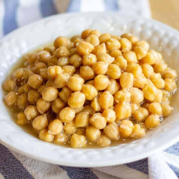 Instant Pot Chickpeas (no soak)