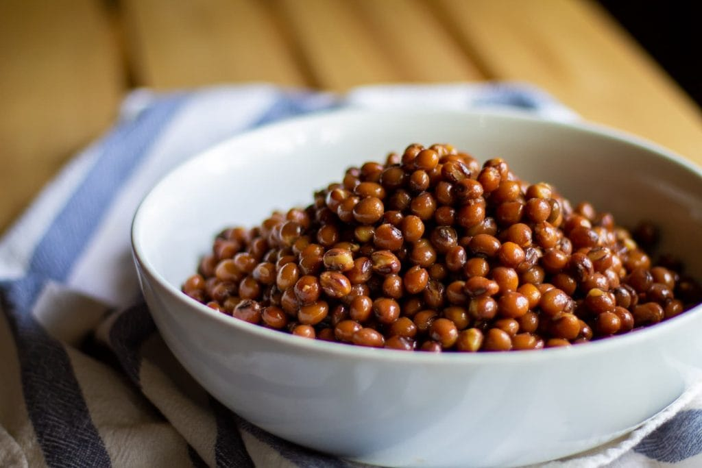 cooked pigeon peas
