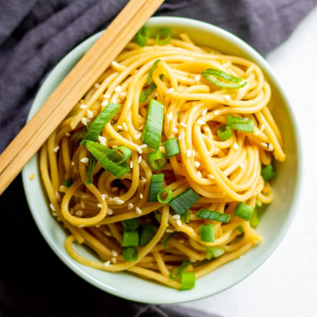 noodles in bowl