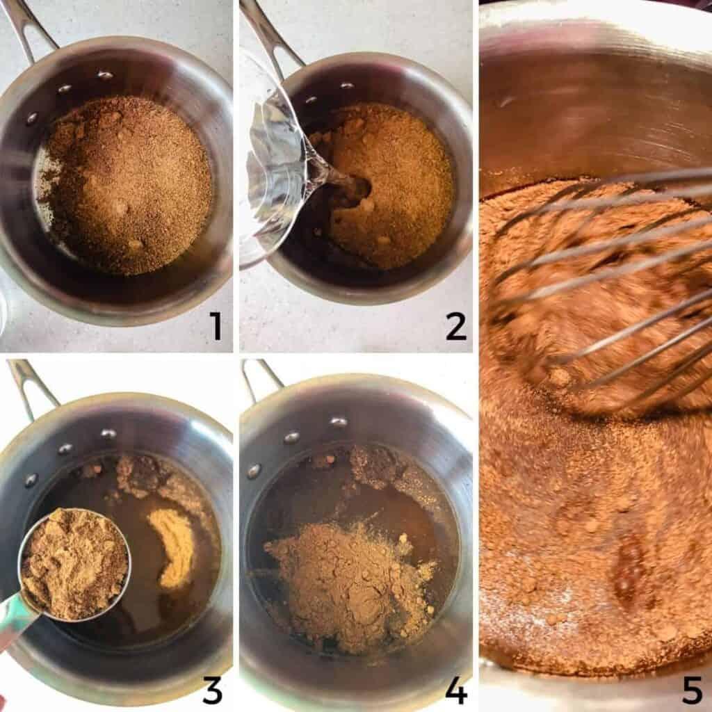 process steps 1-5