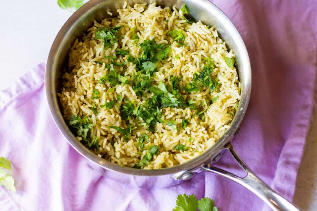 pot of rice